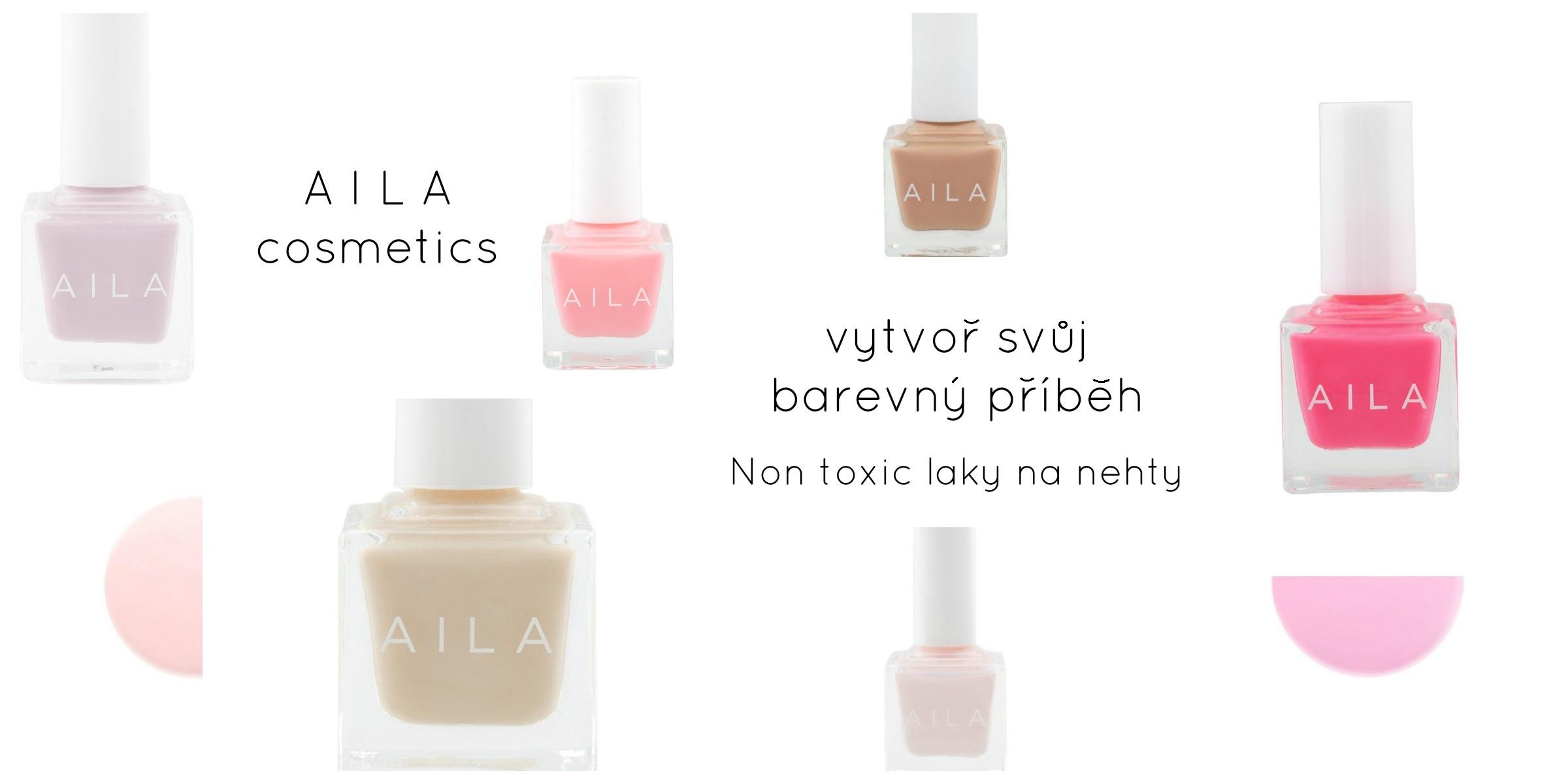 Nové non toxic laky Aila cosmetics z USA