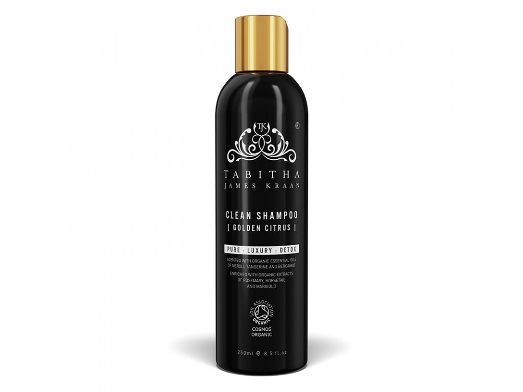 clean shampoo golden citrus 250ml