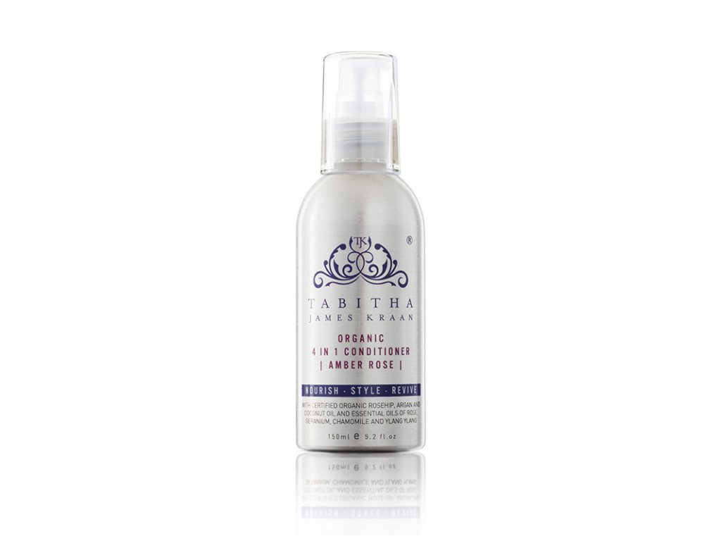tabitha james kraan amber rose organic 4 in 1 conditioner 150ml 1