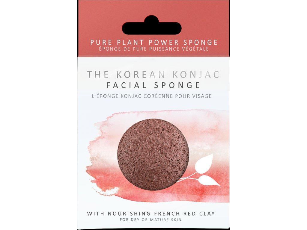 2024P Premium French Red Clay Konjac Sponge [1]