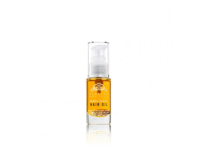 tabitha james kraan scented organic hair oil amber rose 1