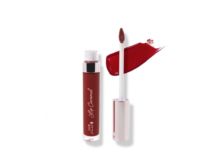 100 Pure Lip Caramel in Red Velvet