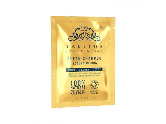 large OkRWtGRtS1qZhM3OC3PA sachet clean shampoo golden citrus 10ml