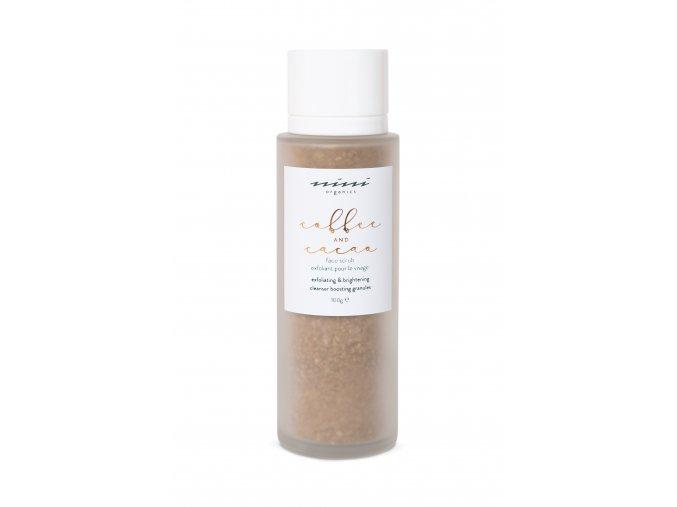 NINI Organics Coffee & Cacoa Face Scrub (White)