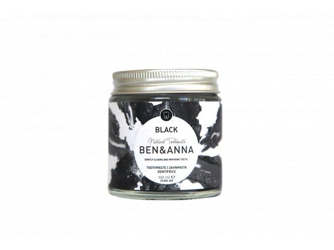BA22050 Ben Anna Toothpaste Black Jar 100ml