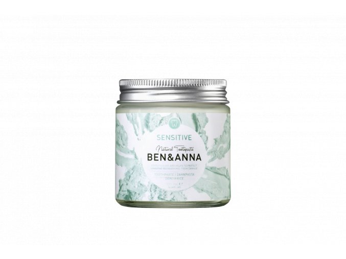 BA22052 Ben Anna Toothpaste Sensitive Jar 100ml