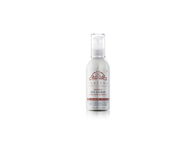 medium tabithajameskraan organic hair cleanser golden citrus 150ml