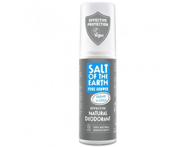 Salt of the Earth Pure Armour Vetiver Citrus Natural Deodorant Spray 100ml front 4f36673b f2bd 4a63 b1e0 2cb47651c241 2048x