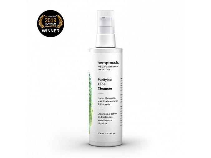 purifying face cleanser en