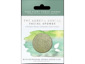 2023P Premium French Green Clay Konjac Sponge [1]