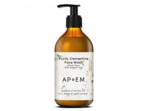 Purify clementine face wash