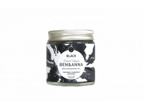 BA22050 Ben Anna Toothpaste Black Jar 100ml