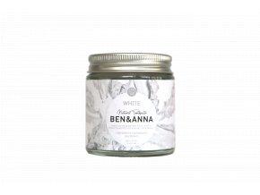 BenAnna Toothpaste White Jar