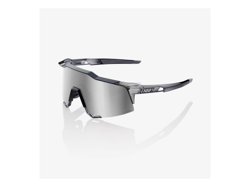 98bcd78d0 Okuliare 100% SPEEDCRAFT Polished Translucent Crystal Grey / HiPER ...