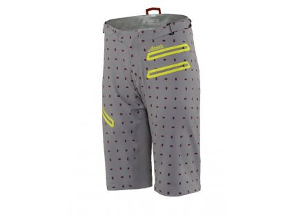 Womens AIRMATIC Skylar Shorts Gray 01