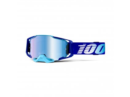 armega goggle royal blue mirror lens