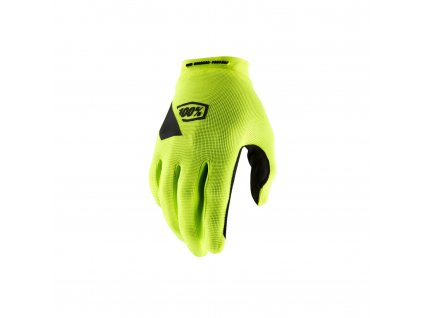 ridecamp glove fluo yellow