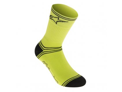 AS Winter Socks Acid yellow Black 01