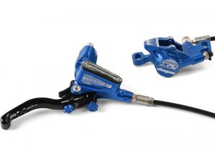 Brzda Tech3 X2 modrá 02