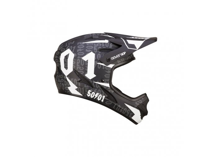 seven helmet M1fiftyone blkwht