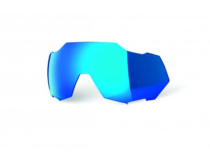 100 nahradni sklo speedtrap hiper blue multilayer mirror