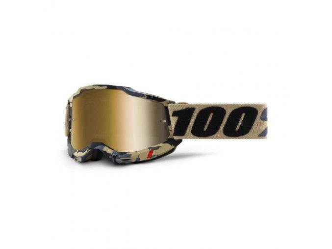 accuri 2 goggle tarmac true gold lens