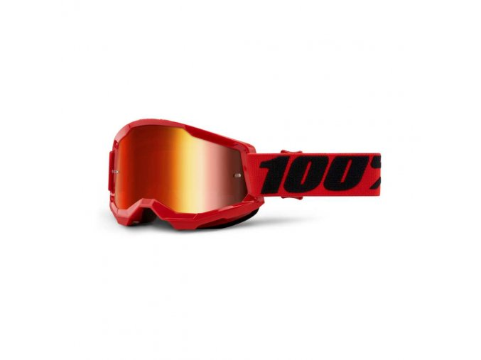 strata 2 goggle red mirror red lens