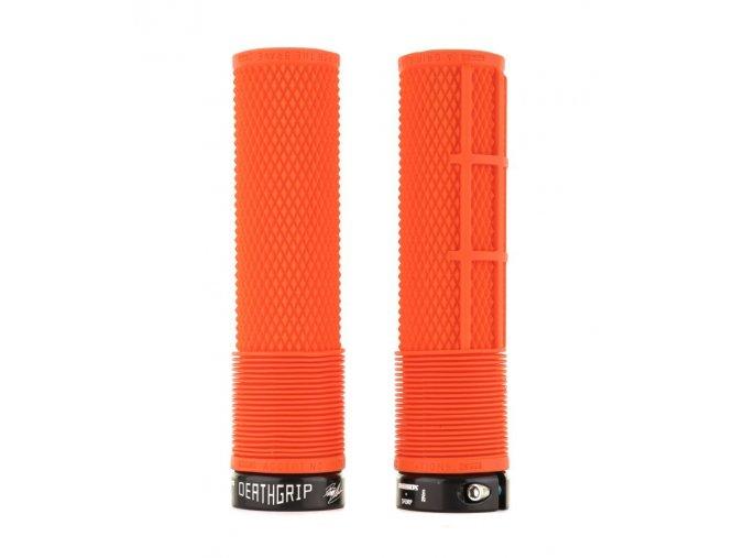 Flangeless DeathGrip orange