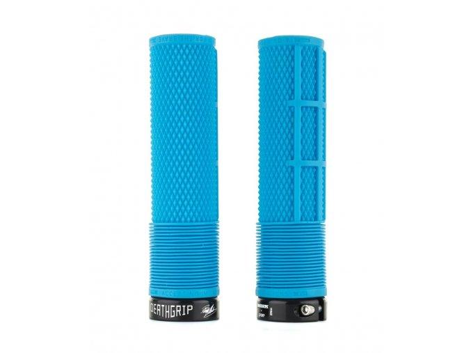 Flangeless DeathGrip blue