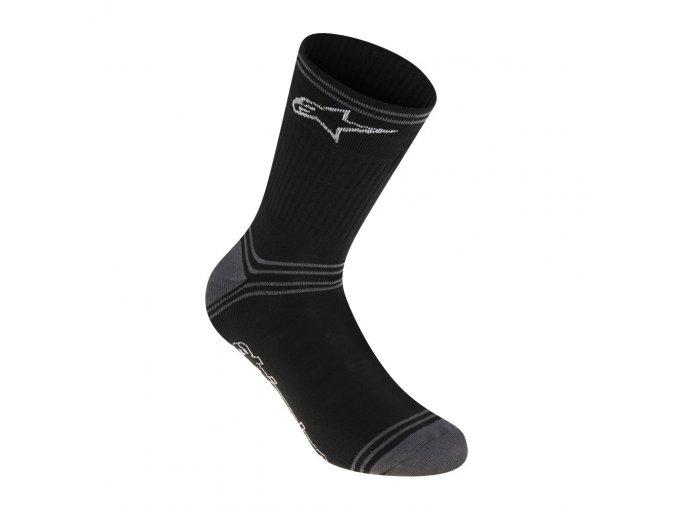 AS Winter Socks Black Grey 01