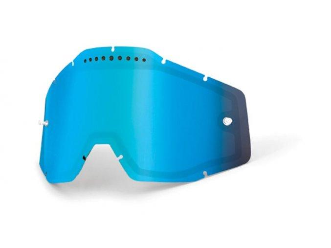 Blue mirror dual lens