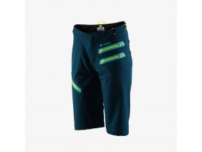 Womens AIRMATIC Shorts Forest Green 01