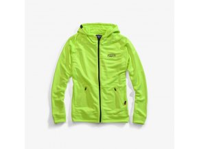 100 union zip mikina flo yellow