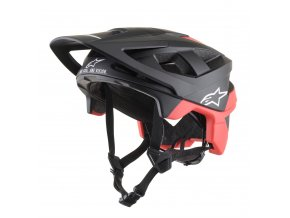 VECTOR PRO Atom Black Red Matt 01