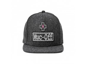 snap back athlete wool cap mucoff 01