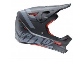 status dh bmx helmet black meteor