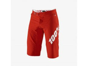 R Core X Shorts Red 01