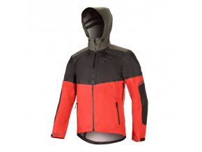 TAHOE WP Jacket Black Red Dark Shadow 01