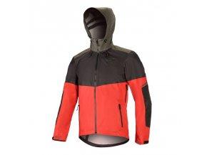 TAHOE WP Jacket Black Red Dark Shadow 01