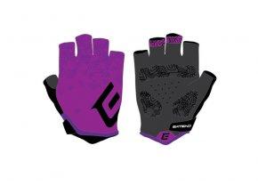 Rukavice dámske ZHENA purple black