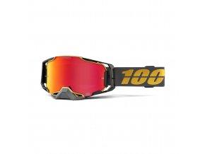 armega goggle falcon 5 hiper red mirror lens