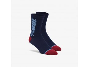 rythym merino performance socks navy