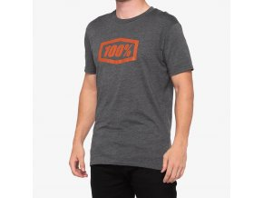 essential t shirt charcoal heather bronze