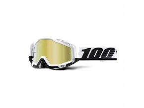 racecraft goggle stuu mirror gold lens