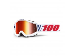 accuri goggle af066 mirror red lens