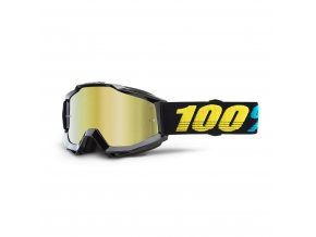 accuri goggle virgo mirror gold lens
