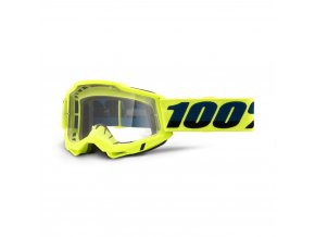 MX Okuliare 100% ACCURI 2 Fluo Yellow - Clear lens