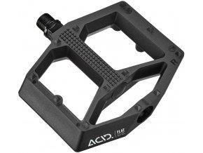 Pedále ACID Flat C2-CC black