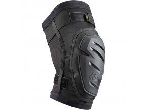 ixs chranice kolen hack race knee guard black 01