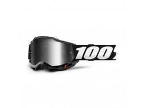 accuri 2 goggle black mirror silver lens